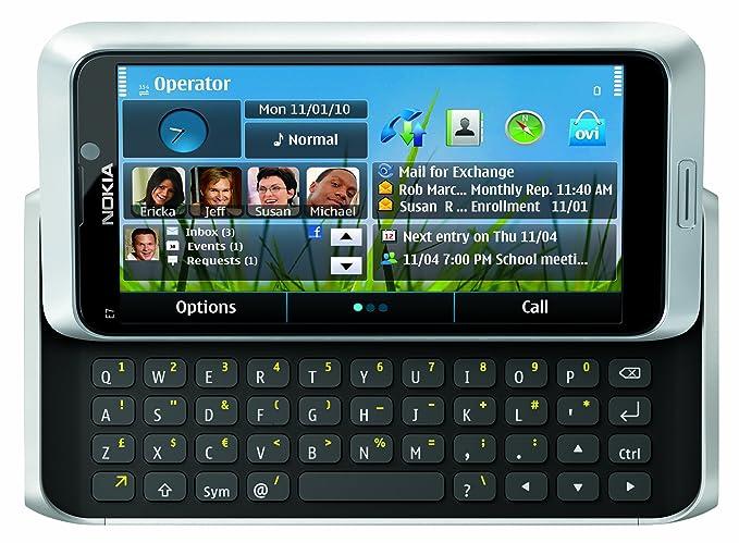 Amazon.com: Nokia E7 – 00 desbloqueado teléfono GSM con ...