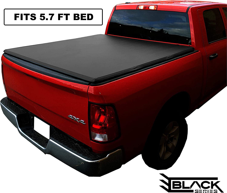 2009 2018 Dodge Ram Crew Cab 5 7ft Short Box Tri Fold Cover Tonneau Cover Bed Cover Soft Tonneau Covers Amazon Canada