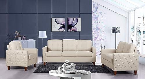 US Pride Furniture Sofas, Beige Tan