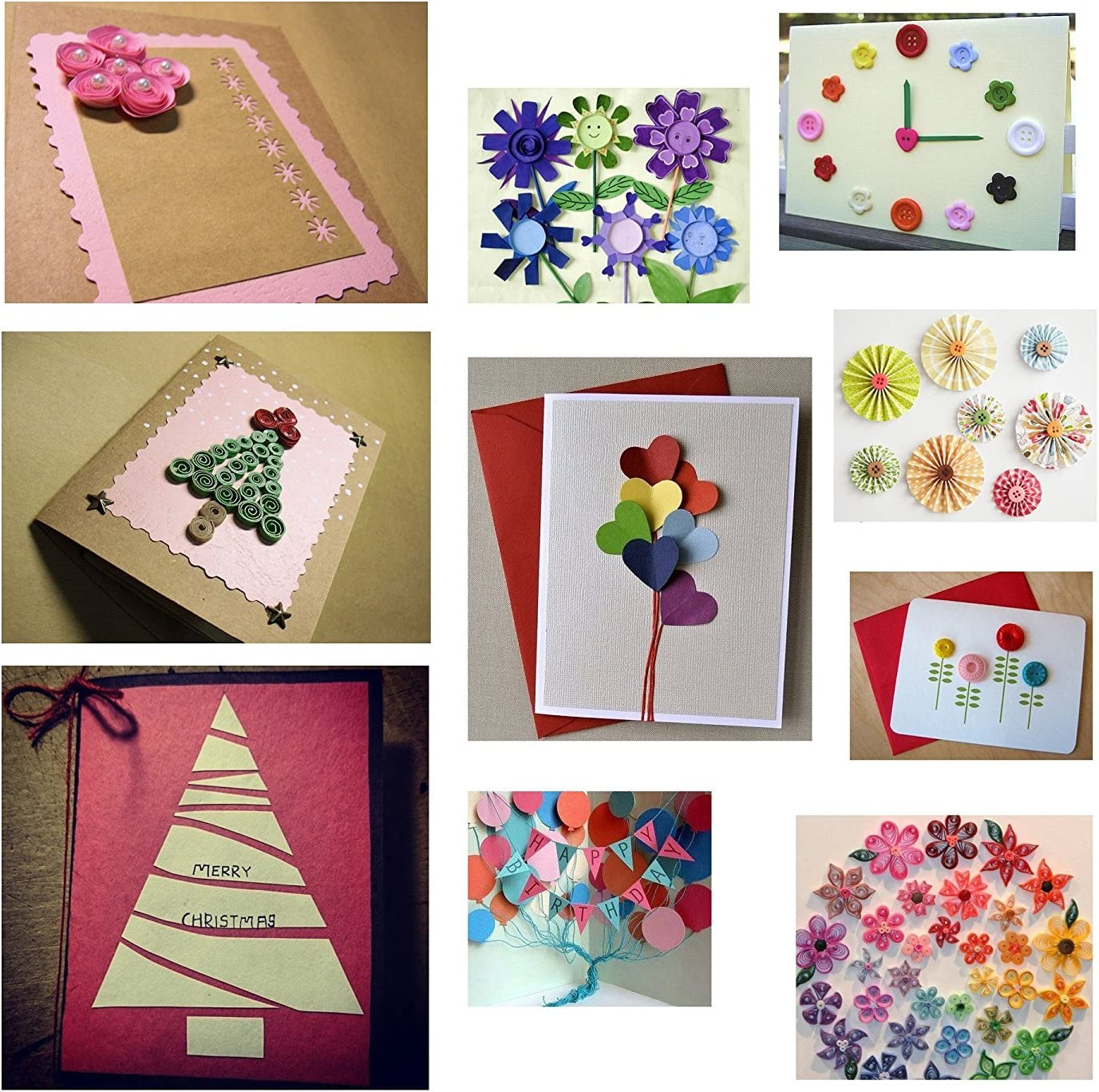 4 cintas con 100/puntos adhesivos ideales para decoraci/ón de globos tarjetas y manualidades