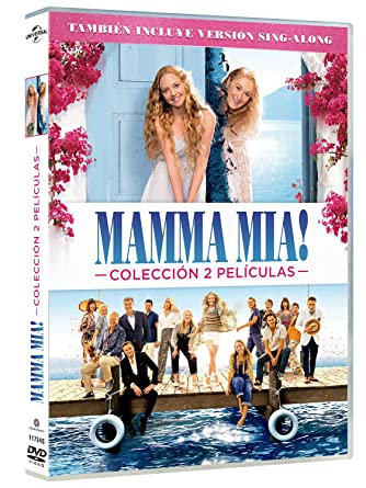 Pack: Mamma Mia 1 + Mamma Mia 2 [DVD]: Amazon.es: Lily James ...