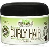 Taliah Waajid Curly Hair Curl Souffle 8oz Jar (Shea-Coco) by Taliah Waajid