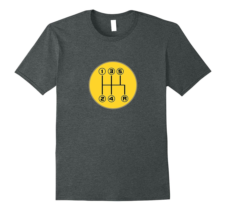 Driving Shift Pattern Fun Stick Shift Manual T-Shirt-TJ
