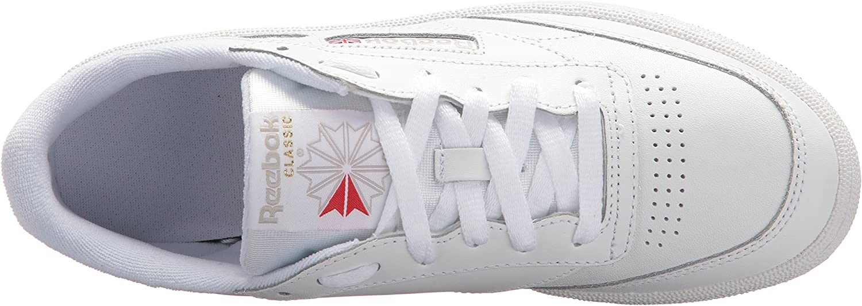 Reebok Women's Club C 85 Vintage Running Shoes White/Light Grey/Gum