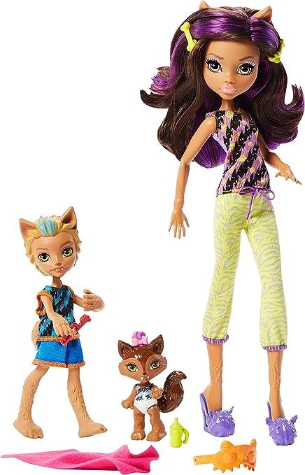 Amazon Com Monster High Monster Family 2 Pack Dolls Toys Games