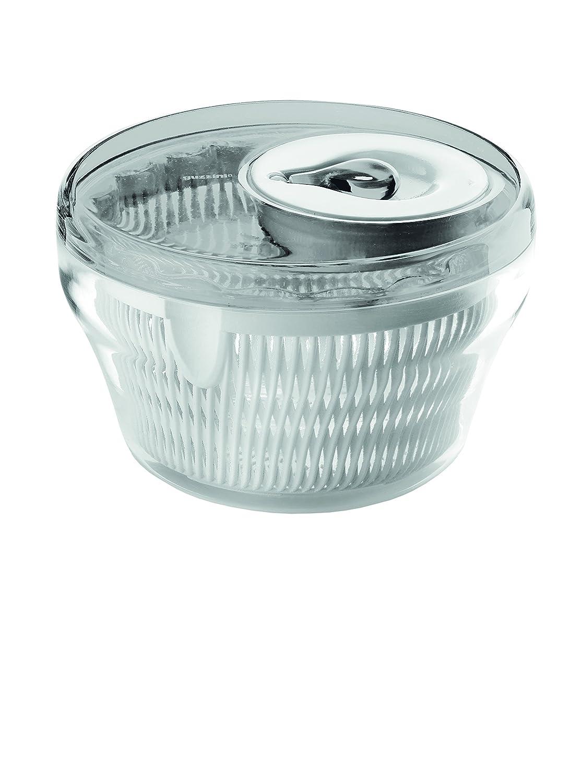 Guzzini Salad Spinner, 11-Inches, Grey 16900092