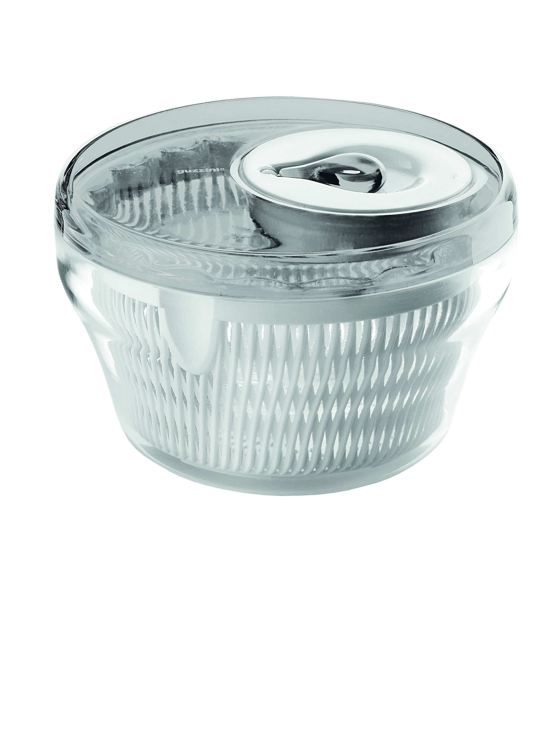 Guzzini Salad Spinner, 11-Inches, Grey by Guzzini