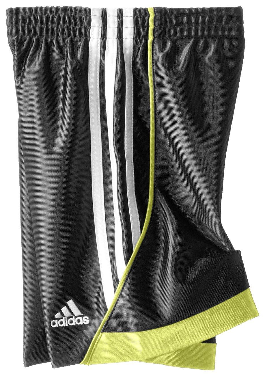 Adidas Little Boys' Speed Short, Black/Yellow, 4 by adidas (Image #2)