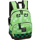 "JINX Minecraft 12"" Creeper Kids Mini Backpack - Green"