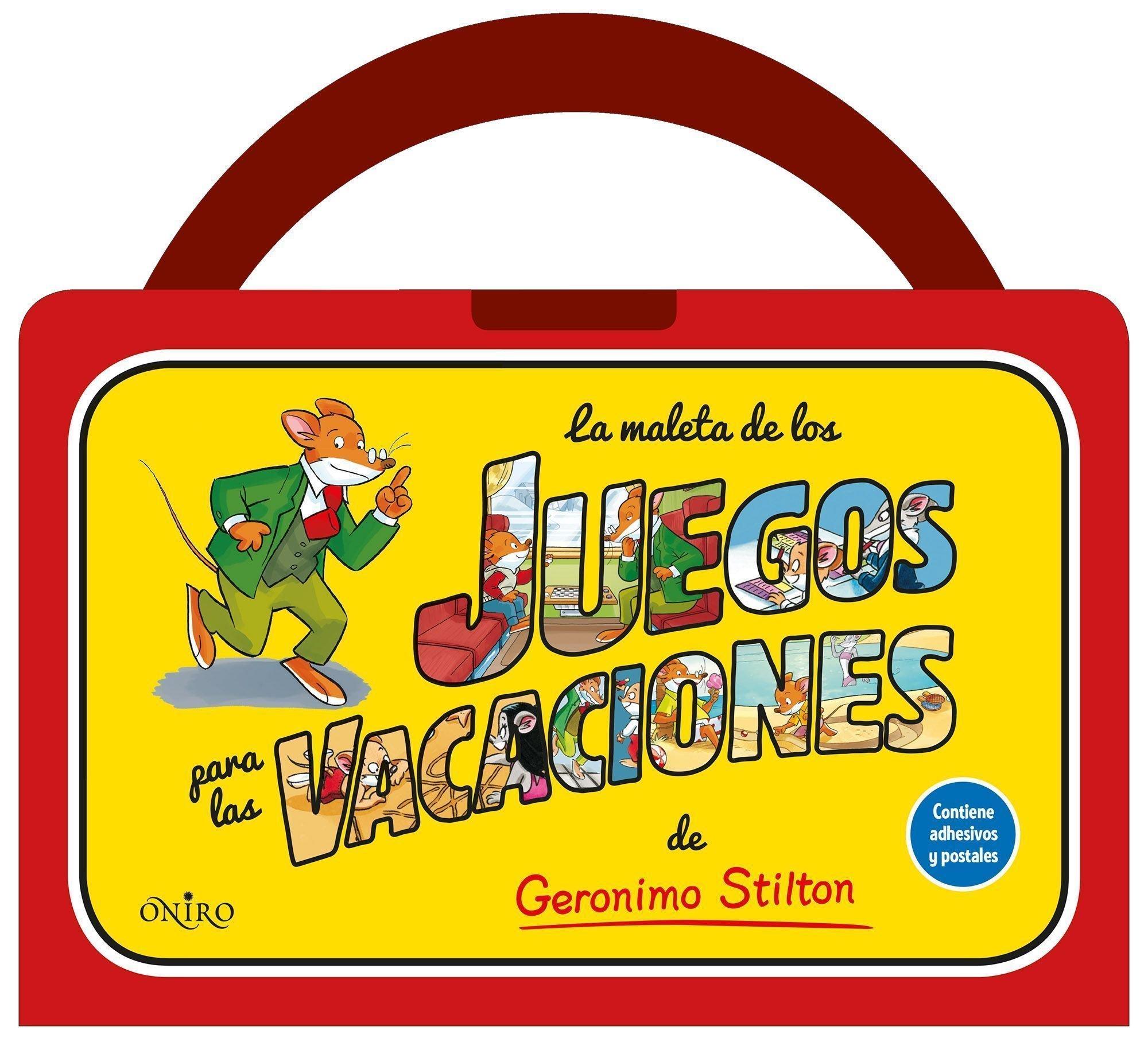 La maleta de los juegos para las vacaciones de Geronimo Stilton (Spanish) Paperback – June 1, 2014