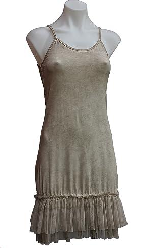 Terra Nomad Women's/Girls Stretch Tank Dress/Slip - Sand