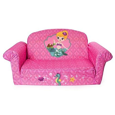 Amazon Com Marshmallow Furniture Children S 2 In 1 Mermaid Flip