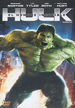 Hulk El Hombre Increible The Incredible Hulk 2008 Amazon Com Mx Películas Y Series De Tv