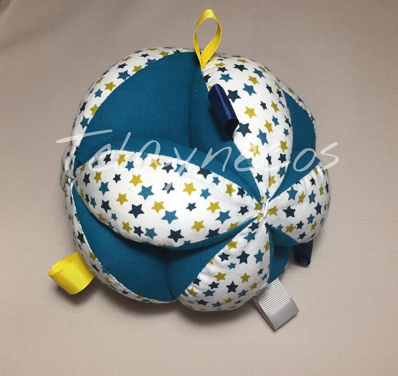Pelota Montessori estrellas con tiras: Amazon.es: Handmade