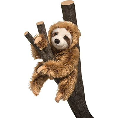 Douglas Simon Sloth Plush Stuffed Animal: Toys & Games