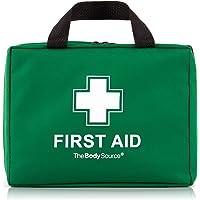 220-teiliges Premium Erste-Hilfe-Set - enthält Sofort Kühlpacks,CPR Maske, Augenspülung, Rettungsdecke für zu Hause, Büro oder Auto | Grün