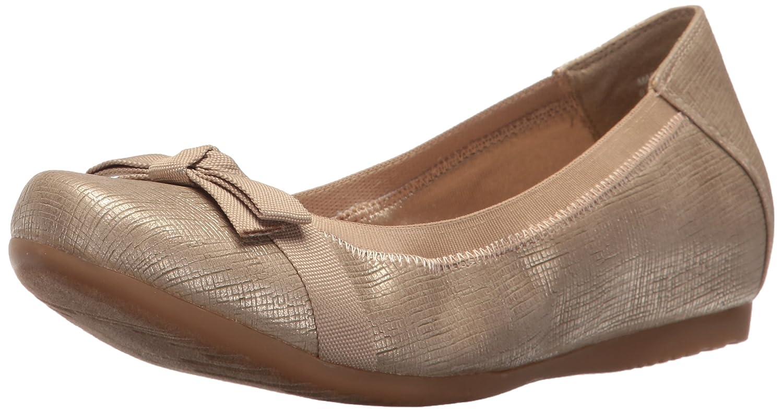BareTraps Women's Maiya Ballet Flat B01KVSBD0Q 7.5 B(M) US|Soft Gold