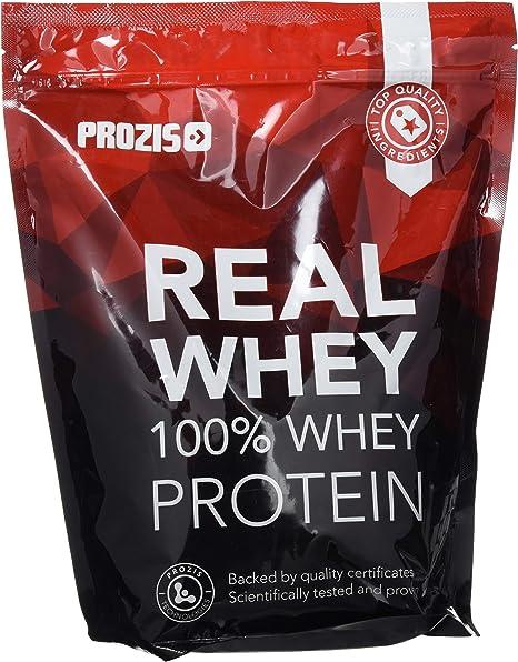 Prozis Natural Real Whey Protein, Proteina en polvo, enriquecido con BCAA para Crecimiento Muscular y Recuperación, óptimo para culturismo, Vainilla - ...