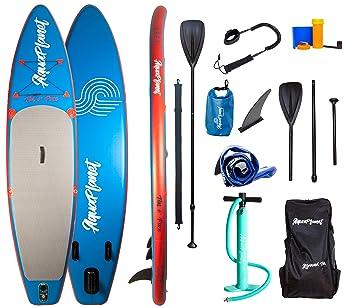 Aquaplanet - Tabla de paddleboard SUP hinchable, 3,15 m x 15 cm Incluye bomba