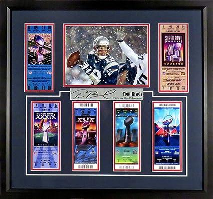 Amazoncom New England Patriots Tom Brady6x Super Bowl
