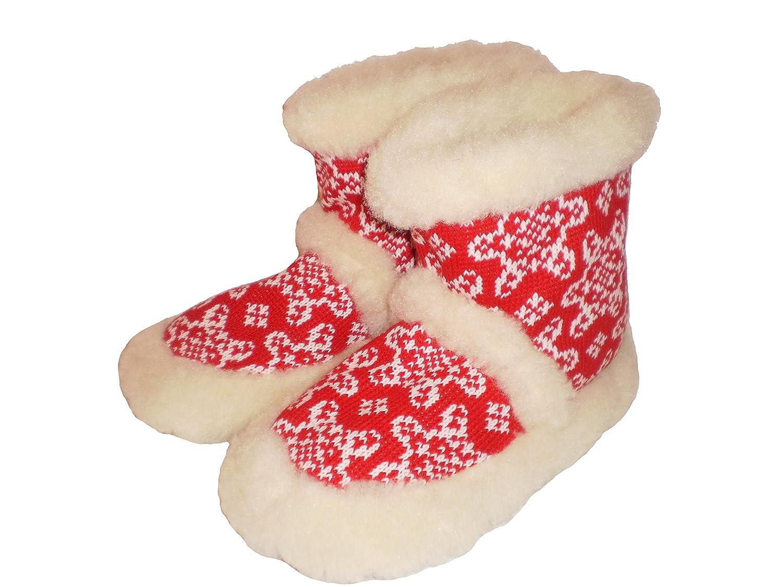 'MARITED' Pantofole babbucce comode e morbide per uomo/donna 100% lana naturale , rosso,nero,blu,turchese 35-46