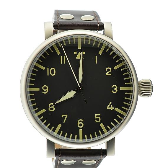Aristo XXL 55 mm de observación del reloj de B-reloj ETA 2824-2 - Tipo B, Ref, 3H121: Amazon.es: Relojes