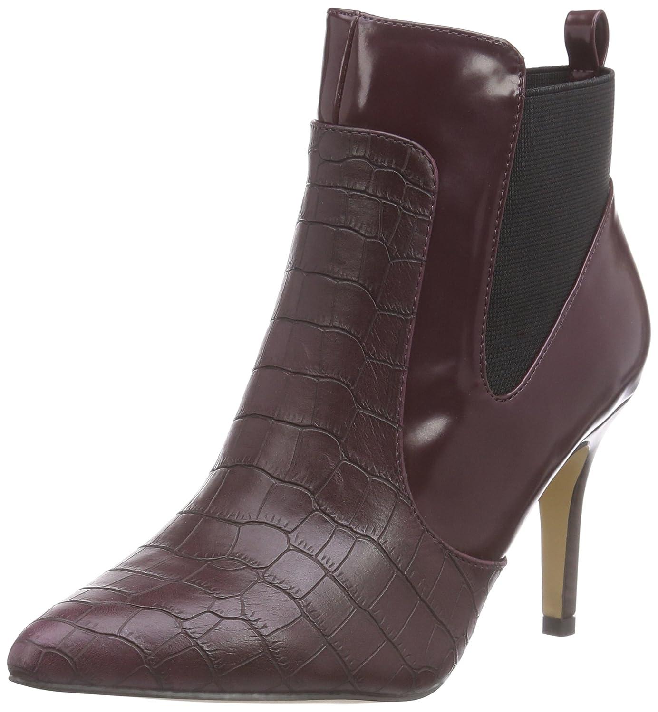 Paco Mena Carrion 3 Damen Kurzschaft Stiefel Rot (Rubi)