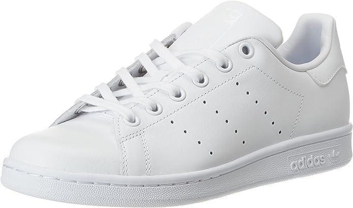 adidas Stan Smith Sneakers Jungen Kinder ganz weiß Größe 36 bis 38 2/3