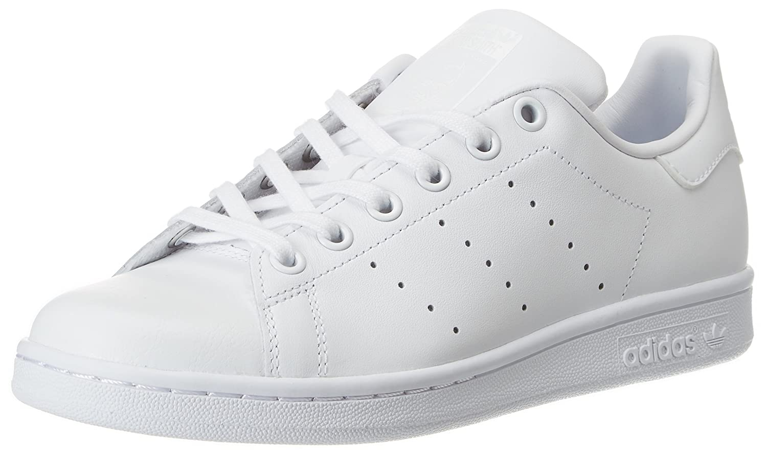 low priced d9248 7fe29 Amazon.com   adidas Performance Stan Smith J Tennis Shoe (Big Kid)    Sneakers