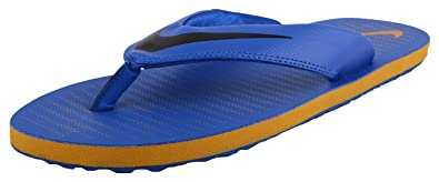 Nike Men's Chroma Thong 5 Blue Flip Flops (11 UK/India)
