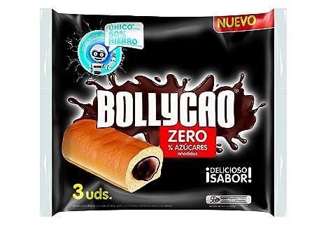 Panrico Bollycao Zero - Paquete de 3 x 60 g - Total: 180 g