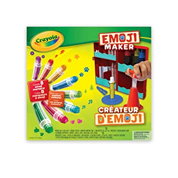 Crayola Emoji Maker, Stamp Marker Maker, Art Activity and Art ...