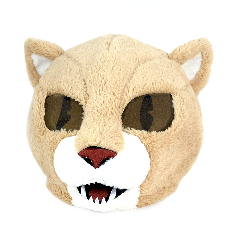 Maskimals Oversized Plush Halloween Mask Cougar
