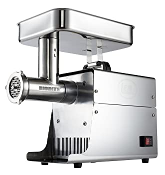 LEM Products W779A Stainless Steel Big-Bite Electric #8 Meat Grinder (.35-HP)