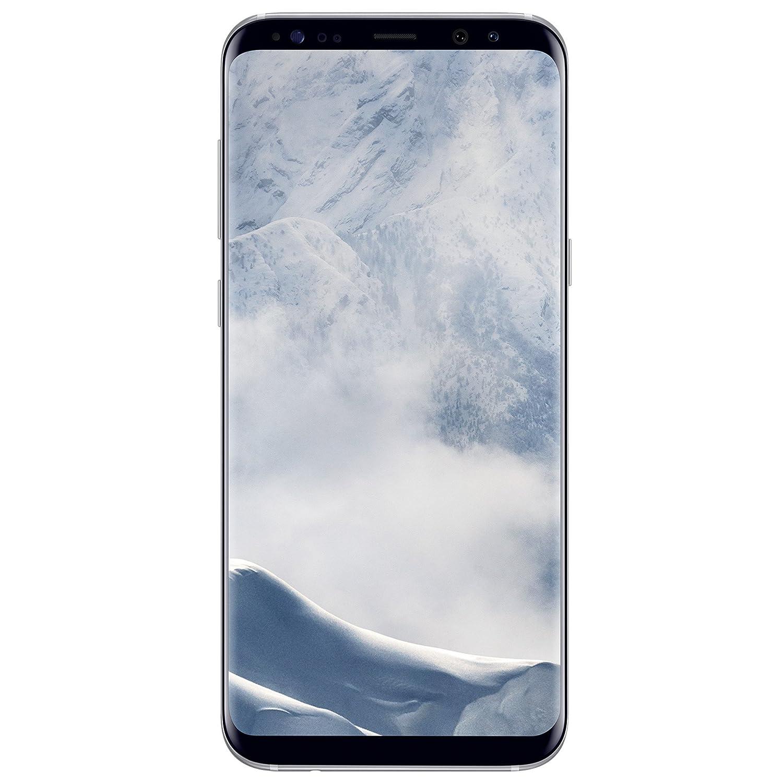 Samsung Galaxy S8 Plus - Smartphone libre (6.2'', 4GB RAM, 64GB, 12MP), Plata, - [Versión italiana: No incluye Samsung Pay ni acceso a promociones Samsung Members]