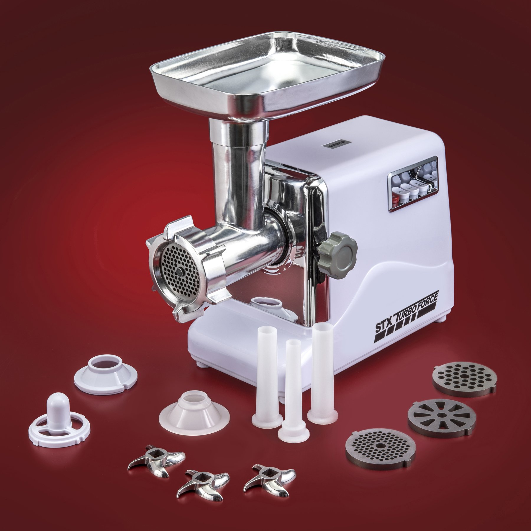 STX International STX-3000-TF Turboforce Electric Meat Grinder