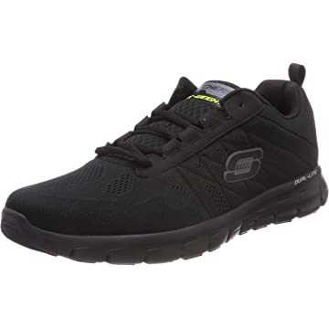 best Skechers Synergy Power Switch Men's Running Shoes Black 10 reviews