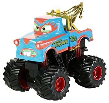 Amazon Com Disney Pixar Cars Toon Tormentor Monster Truck Toys