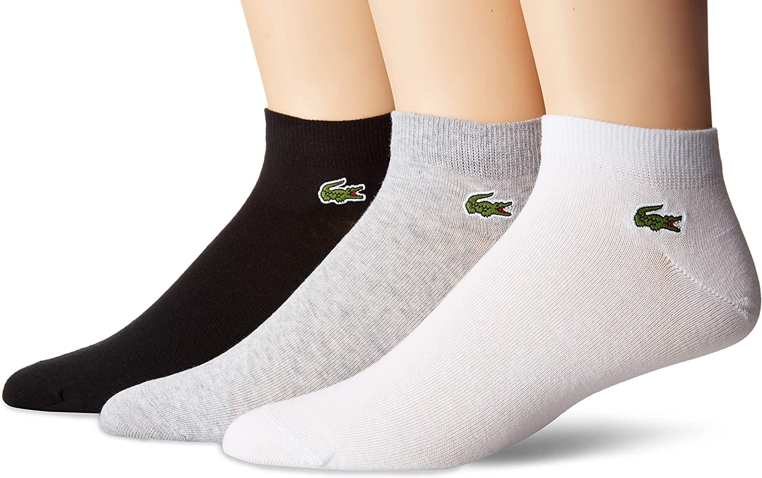 Lacoste 3 Pack Jersey Ped Sock Ra1163