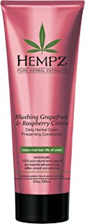 product image for Hempz Blushing Grapefruit & Raspberry Creme Color Preserving Herbal Conditioner, 9.0 Ounce , pink