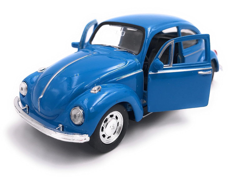Welly Producto de Licencia de Modelo de Auto de Escarabajo VW Beetle 1: 34-1: 39 Blue OVP