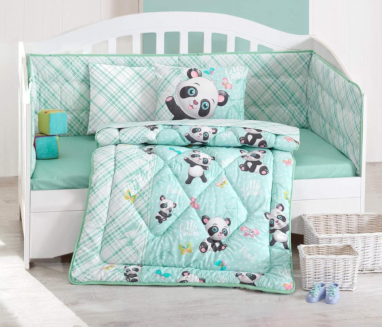 Amazon.com: Cute Little Panda – 100% algodón cuna Set ...