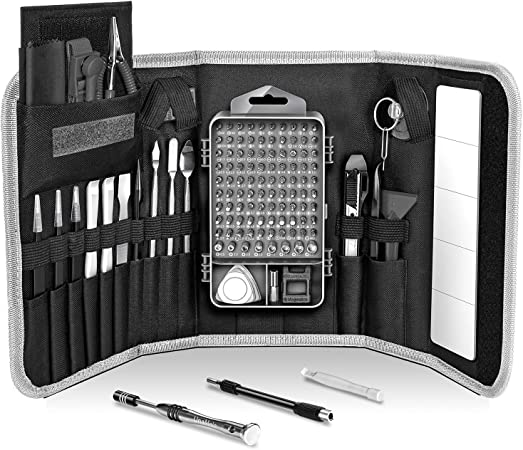 LB1 High Performance Professional 54 Piece Tool Screwdriver Bit Set Repair Kit Hand Tool Kit for Sony VAIO Fit 14 Touch-Screen Laptop 8GB Memory 1TB Hard Drive Black SVF14218CXB