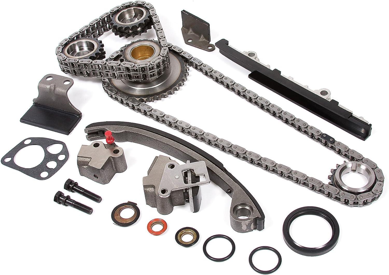 Evergreen OK3016M//0//0//0 Fits 98-04 Nissan Frontier Xterra 2.4L DOHC KA24DE 16V Master Overhaul Engine Rebuild Kit