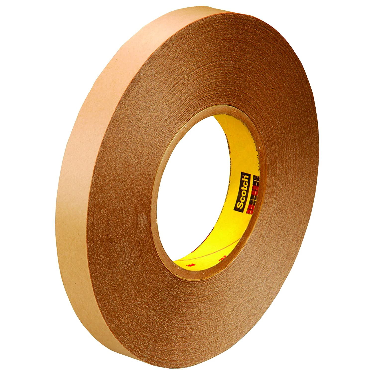 """Scotch T9539425 Clear #9425 Removable Double Sided Film Tape, 1/2"""" x 72 yd. (Pack of 18)"""