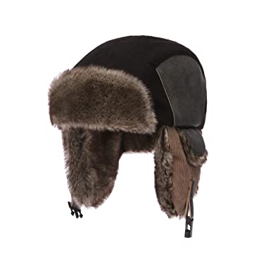 956cb746bb5d4 Moon Kitty Little Boys Winter Hat with Large Flaps Kids Nylon  Russian/Aviator Winter Earflap Cap