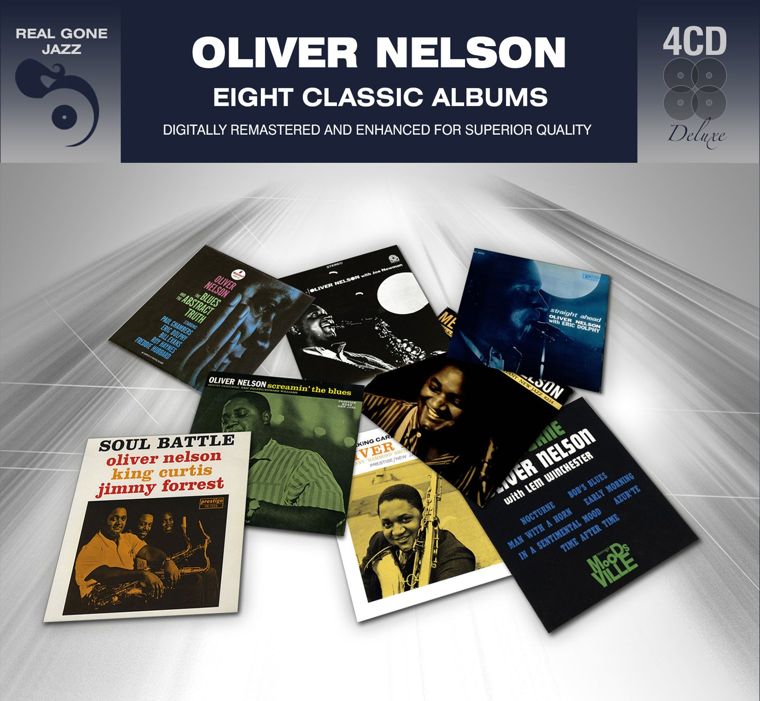 8 Classic Albums - Oliver Nelson by Real Gone Jazz