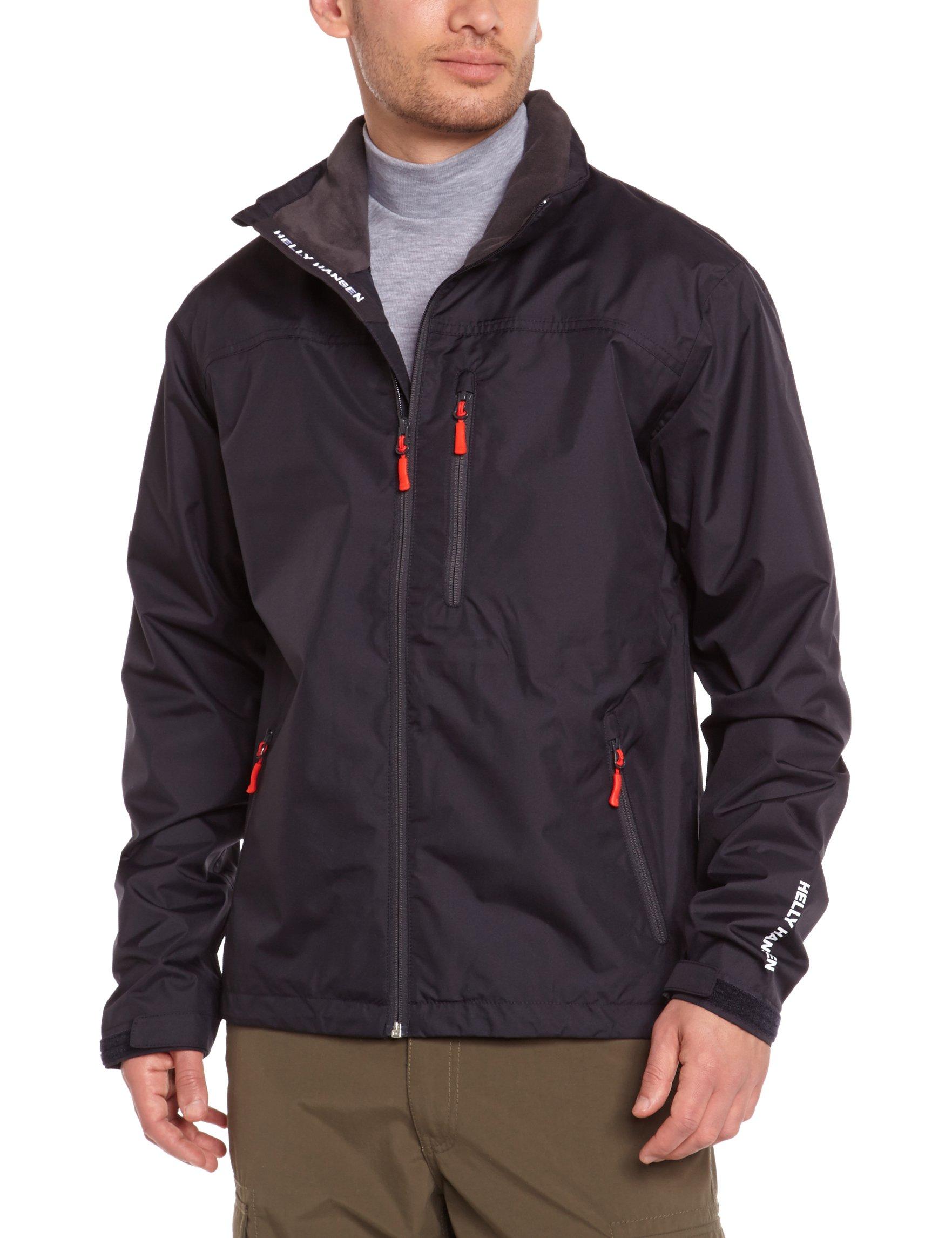 Helly Hansen Men's Crew Rain Jacket, Navy, X-Large