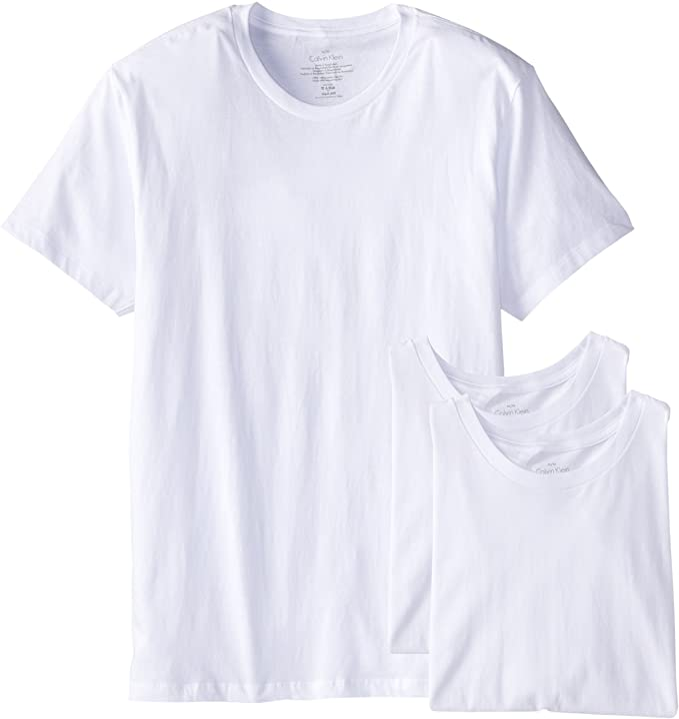 Calvin Klein 卡尔文克莱因 CK 男式短袖圆领T恤 打底衫*3条装 6折$23.61起 多套色可选 海淘转运到手约¥197