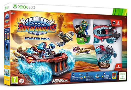 18 opinioni per Skylanders SuperChargers Starter Pack (Xbox 360)